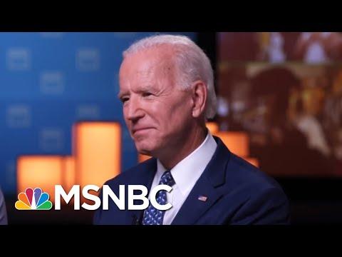 Joe Biden: Christine Blasey Ford Shouldn't Be 'Vilified' Like Anita Hill | Craig Melvin | MSNBC