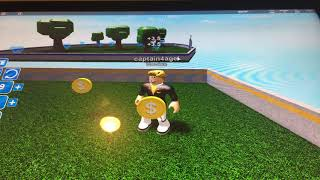 Playing a game in ROBLOX and subscribe ok guys