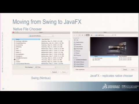 Moving from Swing to JavaFX