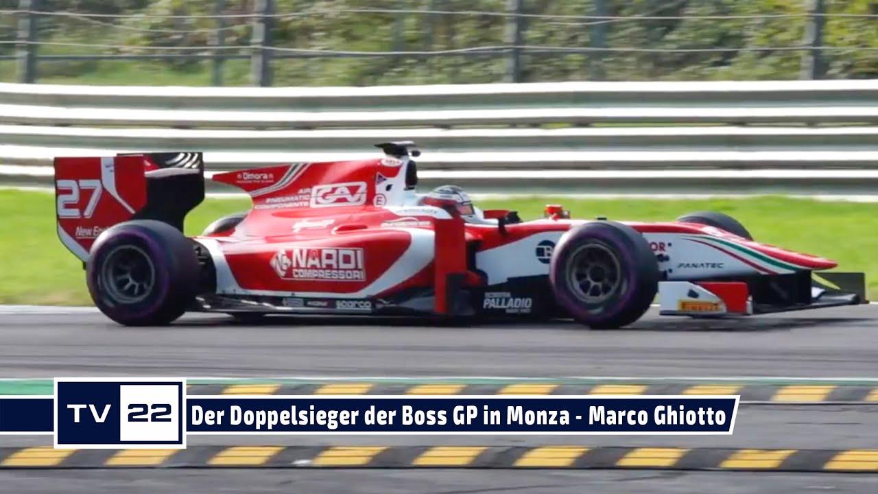 Der Doppelsieger des GlobeAir Grande Finale der Boss GP in Monza - Marco Ghiotto