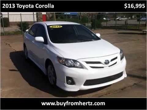 Thumbnail: Used Car For Sale, Hertz Car Sales, Toyota, Corolla, 2013