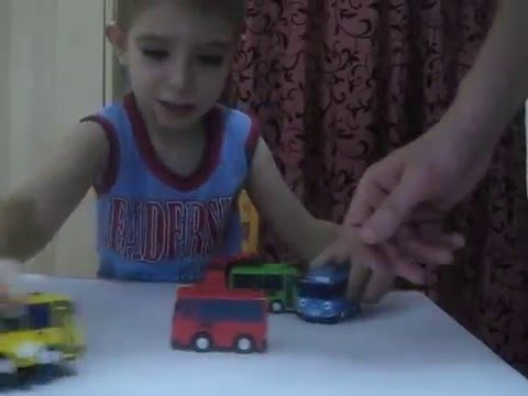 Тайо маленький автобус. Сюрприз. Tayo The Little Bus.