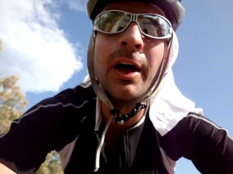 Cycling over Venice islands, Pellestrina to Santa Maria del Mare, Italy