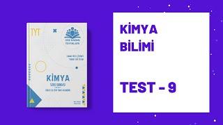 Çöz Kazan TYT Kimya Soru Bankası   Kimya Bilimi   Test 9