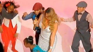 Mariah Carey - 3 FAILS in a Unlucky Day (Christmas Concert)