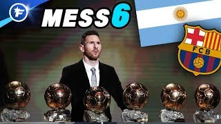 Lionel Messi remporte son 6e Ballon d'Or !