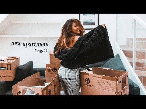 Meine erste eigene Wohnung!   Die ersten Tage Vlog. 11   Michelle Danzinger