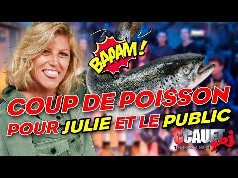 Coup de poisson pour Julie et le public - C'Cauet sur NRJ
