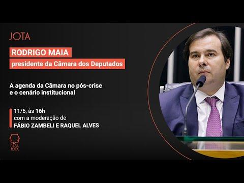 Rodrigo Maia: A agenda da Câmara durante a crise do coronavírus | 11/04/20