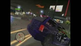 L.A. Rush Xbox Gameplay - Big Chase