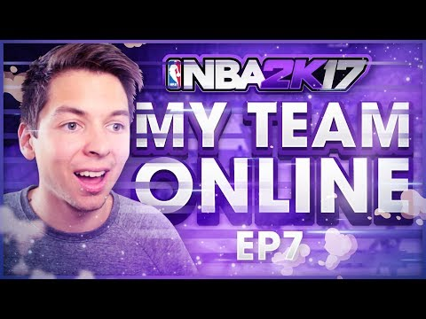 PLAYING SO MANY OVERPOWERED TEAMS!! NBA 2K17 MY TEAM ONLINE #7
