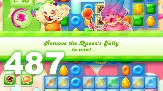 Candy Crush Jelly Saga Level 487 (No boosters)