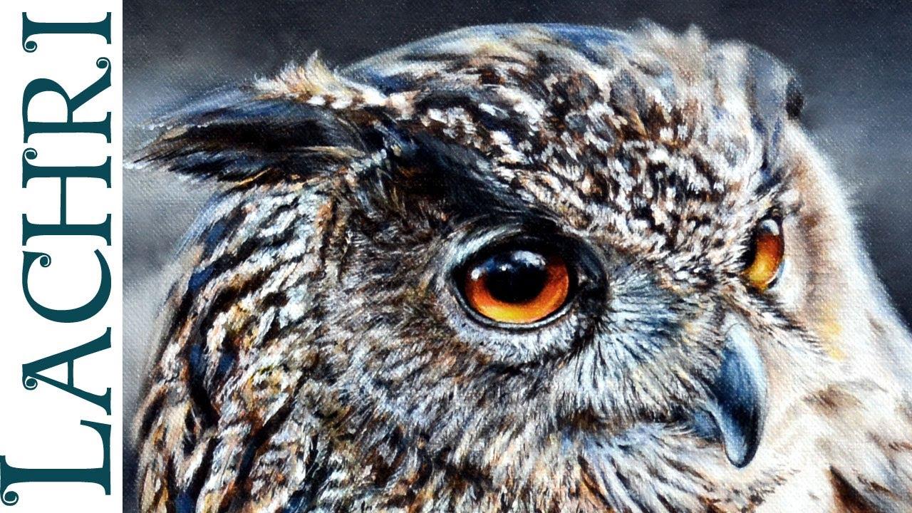 Oil Painting Animal Eyes