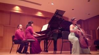 Barber: Sonata for Cello and Piano, I. Allegro ma non troppo