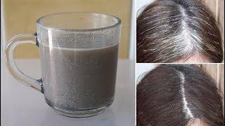 每天喝一杯它,白髮很快自然變黑髮,黑髮自然生出來了,頭髮變得烏黑濃密!