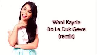 Wani Kayrie - Bo La Duk Gewe (remix) (unofficial lyrics video)