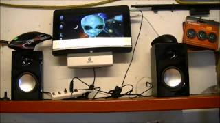 Nexxtech Booming Multimedia Speakers Review