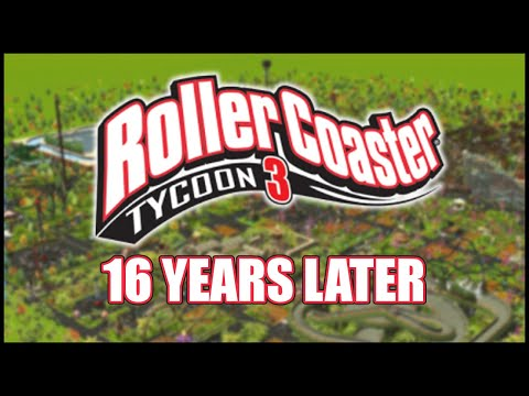 The Forgotten Game... Rollercoaster Tycoon 3 |