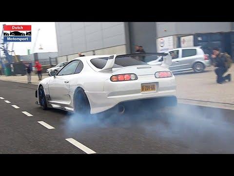 Modified Cars Accelerating at IMB Car Meet! - 950HP Supra, 458, AMG GTS, 800HP Supra, Mustang,...