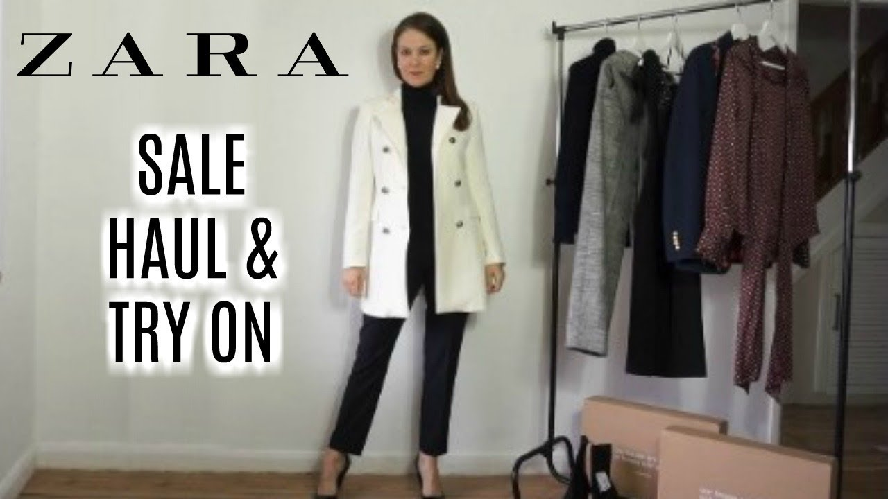 e5083ca6 Zara Sale Try On Haul for women over 40   Fashion over 40   January 2018