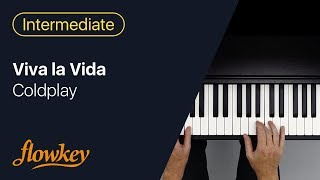 Viva la Vida – Coldplay (Easy Piano Tutorial)
