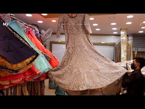 designer-lehenge-in-chandni-chowk- -new-designs-with-new-shades- -cheapest-lehenga-shop