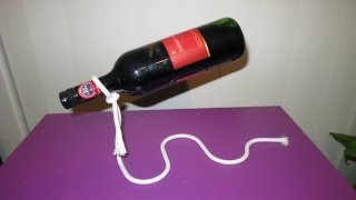 Unboxing Unusual Magic Rope Wine Bottle Holder