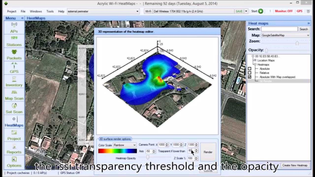 How To Generate WiFi Heat Maps And WiFi Coverage Maps YouTube - Wifi map software