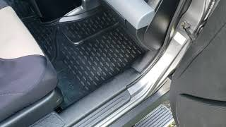 OMAC aftermarket Honda Element rubber floor mats