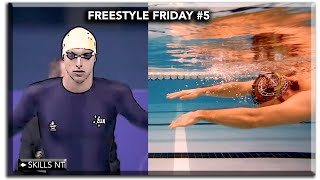 The smoothest fastest swimming :: Freestyle Friday #5 :: catch up swim