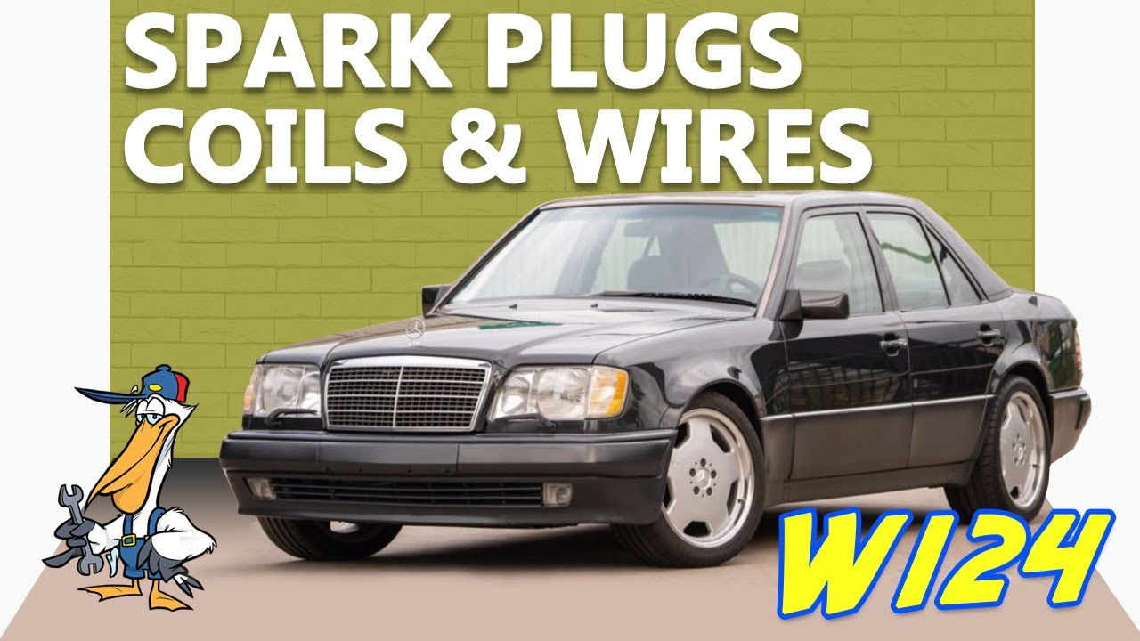 mercedes-benz w124 spark plug wires and coil replacement | 1986-1995 e-class  | pelican parts diy maintenance article  pelican parts