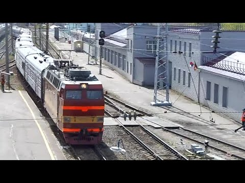 ЧС4т-260 с поездом Москва-Абакан.