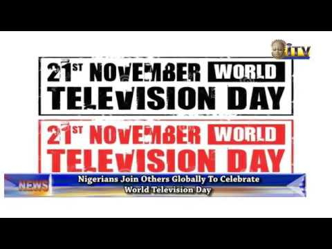 Nigerians joins Others Globally To Celebrate World Television Day