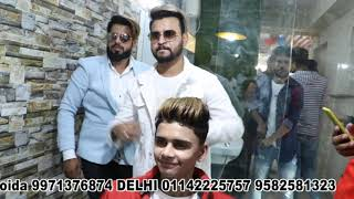 Noida Branch Inauguration Of RIZY HAIR SOLUTION Hair Patch Center BY Lucky Dancer Tiktok✨ 9971376874