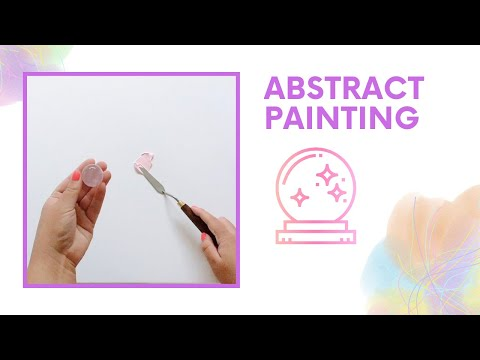 Satisfying Abstract Painting with Palette Knife - Relaxing Video - Relax and Unwind