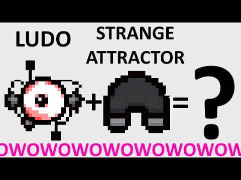 The Binding Of Isaac: Rebirth  LUDOVICO TECHNIQUE  STRANGE ATTRACTOR  SICK COMBOS Ep. 32