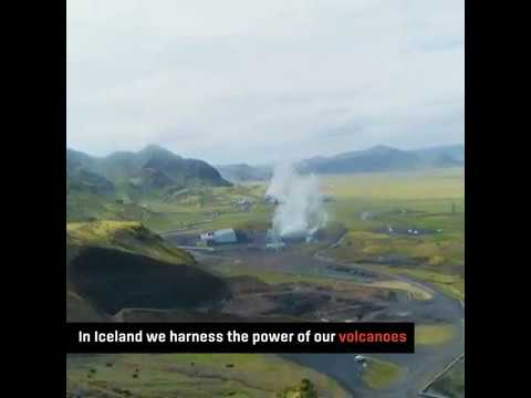 Geothermal Energy Exhibition at Hellisheidi Power Plant