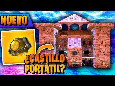 *NUEVO* CASTILLO PORTÁTIL Y PARQUE DE ATRACCIONES | TEMPORADA 6 FORTNITE