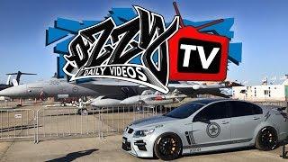 Serg Hits Eye Candy Motorsports | Ozzy TV