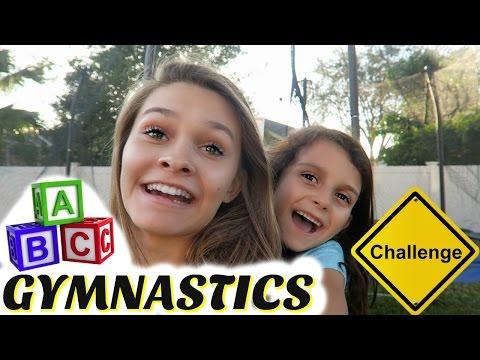 ABC GYMNATICS CHALLENGE| TRAMPOLINE EDITION
