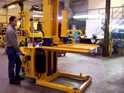 Titan Die Cart 2440: 4,000 lb Capacity single station