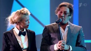 �������� ���� Григорий Лепс и Алина Гросу - Рюмка водки.4K (Ultra HD) ������