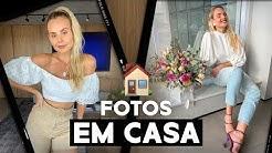 Como fazer FOTOS em CASA: Poses e truques para fazer fotos sozinha em casa! | Layla Monteiro