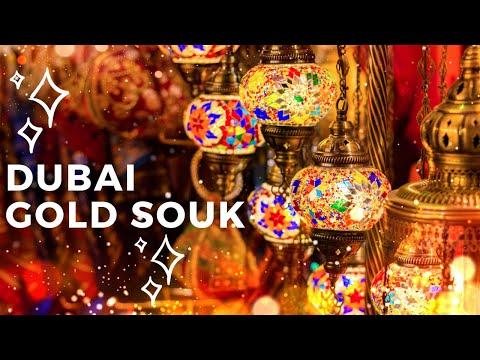 Dubai Gold Souk & Spice Market (Old Dubai & Deira) Vlog #2