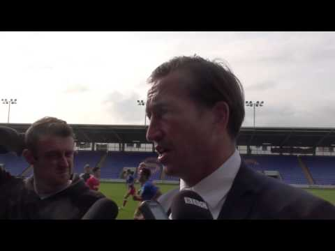 Justin Edinburgh post-Shrewsbury Town