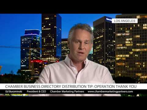 Chamber of Commerce Directory Distribution Tip: Operation Thank You