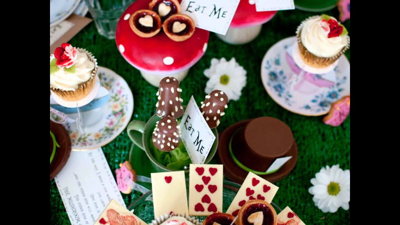 e8ea5f375 Ministry of Desserts  Alice in Wonderland Tea Party - YouTube