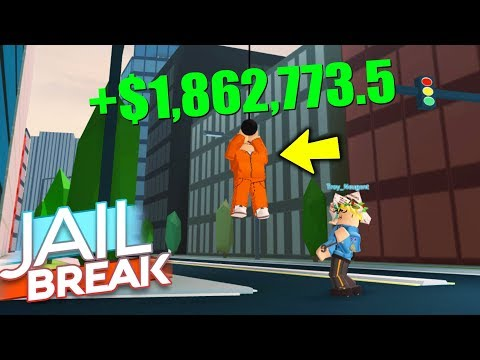 NEW JAILBREAK GLITCH GIVES YOU UNLIMITED CASH! *WORKING* (Roblox)