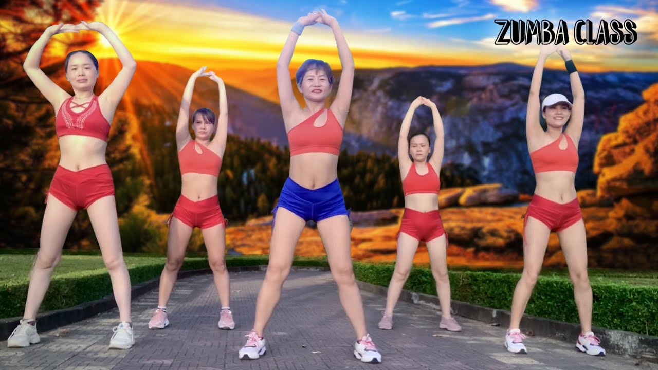 30 Mins Beginner Friendly Standing Workout l Burn Belly Fat for Slim Waist in 30 days l Zumba Class