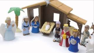 Nativity Play Set with Story Book